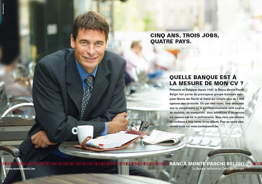 Banca Monte Paschi Belgio-press-Equation advertising Brussels