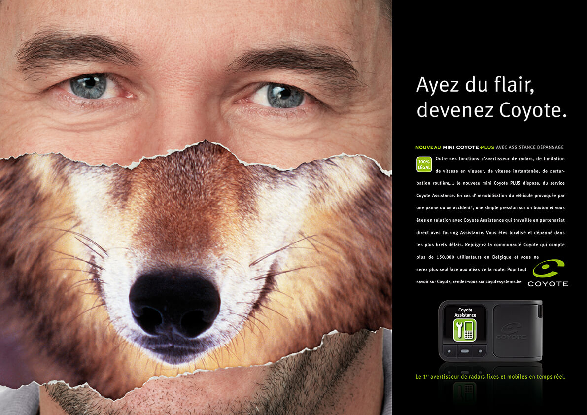 Coyote-press-Equation advertising Brussels