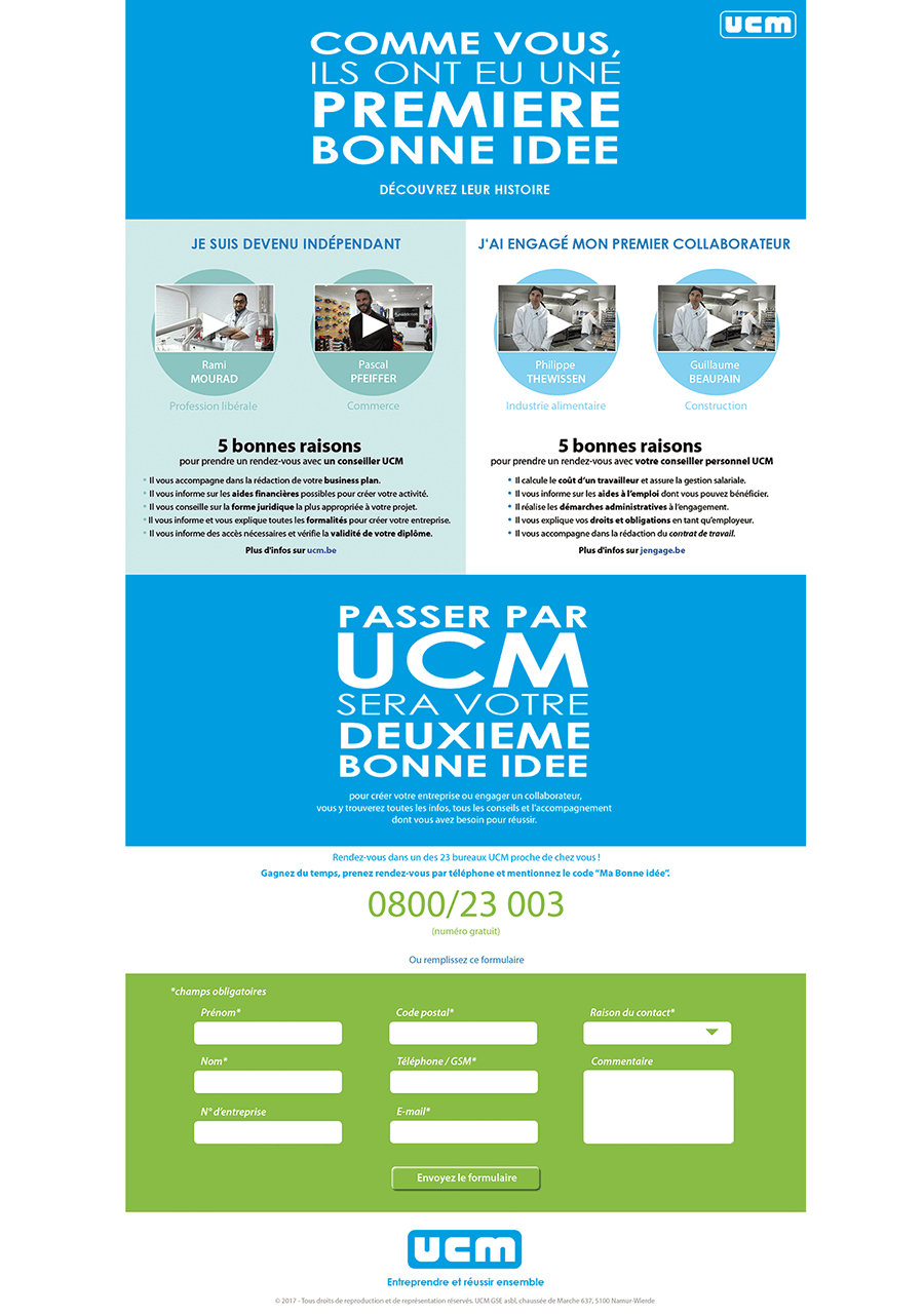 UCM-website-Equation advertising Brussels